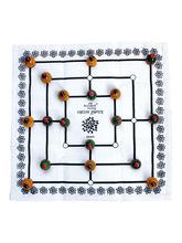 Ancient Living Daadi Game, Navakankari, Nine Men's...