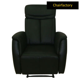 Athena Stylish Black Recliner Chair