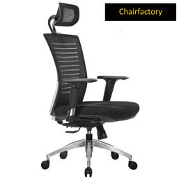 Avesta High Back ZX Ergonomic Chair - Black