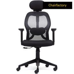 Matrix ZX HB Ergonomic Office Chair, white