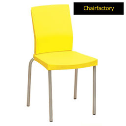 Thelma Cafeteria Chair, yellow