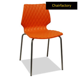 Crystalite Modern Cafe Chair - Orange