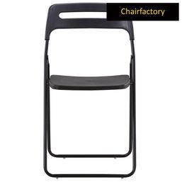 Zayley Foldable Chair - Black
