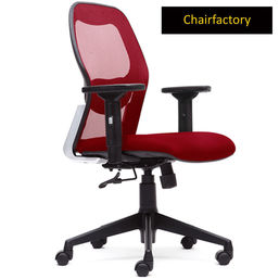 Matrix LX Mid Back Ergonomic Office Chair, red