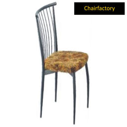 Contora Cafe Chair With Upholstered Seat