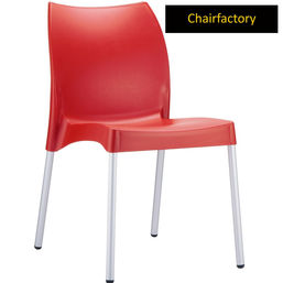 Octavia Cafe Chair - Red