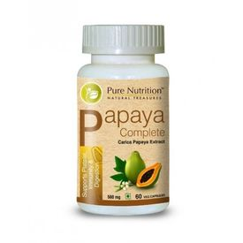 Pure Nutrition - Papaya Complete 60 Veg. Capsules, 60 capsules