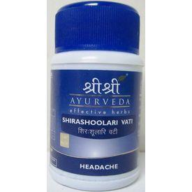 SRI SRI - SHIRASHOOLARI VATI (headache)