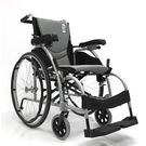 Karma - KARMA SOMA BLACK F22 FOLDABLE Wheel Chair, 1pcs