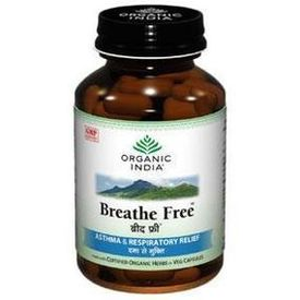 ORGANIC INDIA - BREATHE FREE, 60 cap