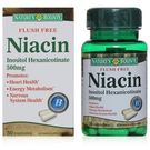 Nature's Bounty - FLUSH FREE NIACIN 500mg, 50 cap