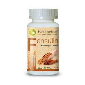Pure Nutrition - Fensulin 60 Veg. Capsules, 60 capsules