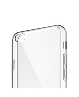 Transparent TPU Soft Silicone Back Cover Case For Apple iPhone 5S