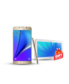 Samsung Note 5 32GB Single SIM with Free Samsung Ativ 10 inch Tablet