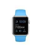 Apple Watch 38MM Silver Aluminum Case With Blue Sport Band MJ2V2, 38 MM,  Blue