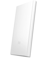 Xiaomi 5000mAh 9.9MM Slim Mi Power Bank Charger For iPhone Samsung HTC Tablet,  Silver, 5000mAh