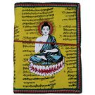 Craftsgallery Handmade Paper Diary With Buddha Print, 4 x 6 inches