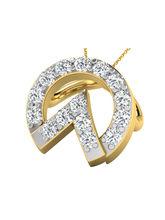 Sparkles Fancy Diamond Pendant (P9995), 9k, gold