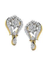 His & Her Fancy Diamond Earrings (T10134), 9k, Gol...