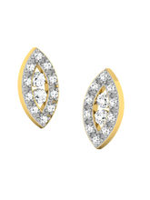 His & Her Fancy Diamond Earrings (T11825), 9k, Gol...