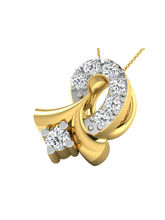 Sparkles Fancy Diamond Pendant (P9994), 9k, gold