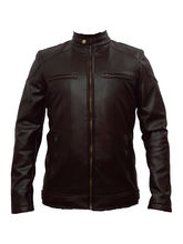 Winmaarc Faux Leather Stylish Mens Winter Jacket (JKT004), l, brown