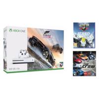 Microsoft Xbox One S 500 GB with Forza Horizon 3, The Crew, Steep (White)