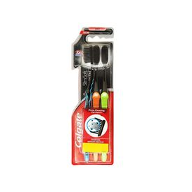 Colgate SlimSoft Charcoal Toothbrush (Soft)