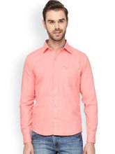 Crosscreek Men's Contemporary Solid Shirt, m, pink