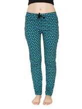 Shappon Charcoal Solid Cotton Track Pant (12718), s, light blue