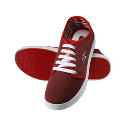 Yepme Men Red Canvas Casual Shoes - YPMFOOT7847, 8