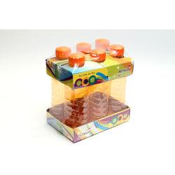 Petman Economy Water Bottle-Set Of 6 (1000Ml Each), orange