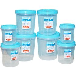Chetan 8 Pcs Twist Lock Kitchen Containers