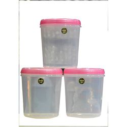 Chetan 3 Pcs Seal Fresh Kitchen Containers-9 Ltrs