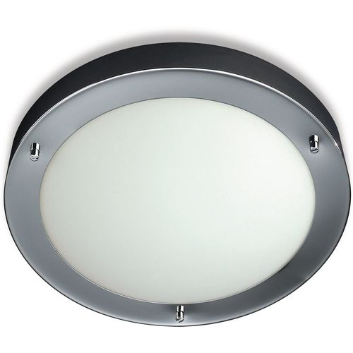 Philips Aquafit Ceiling light 60 W, Chrome, Energy saving lamp 915000110901