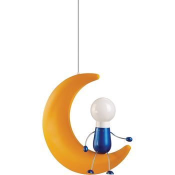 Philips Kidsplace- Suspension light 14 W, Yellow, Energy saving lamp 915002197501