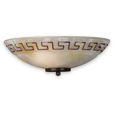 Philips Roomstylers Brown Brushed Wall light 60W 915002257001