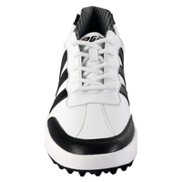 PGM Freestyle Spikeless Men's Golf Shoes - White/Black, uk 7.5, white/black