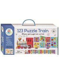 Building Blocks 1 2 3 Puzzle Train, multi
