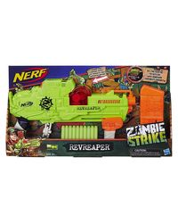 NERF Guns Zombie Revreaper Blaster, Age 8+
