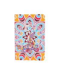 """Doodle Culture Rainbow Notebook, UV - Paper Finish, Hard Cover, Ruled, 200 Pages, A5 (8.5"""" X 5.5"""" ) (Multi-Colour)"""
