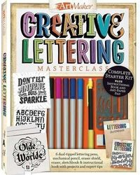 Art Maker Creative Lettering Masterclass, multi