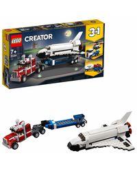 Lego Creator Shuttle Transporter Building Blocks, Age 7+
