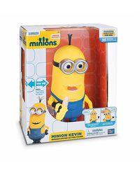 Minions Kevin Banana Eating Action Figure, Yellow