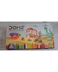 Doms Plastic Crayon 28 Shades