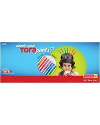 Camlin Tora Ball Pen Set in 8 Vibrant Ink Colors