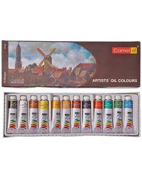105701 Artist'S Oil Colour Box (9Ml X 12 Shades)