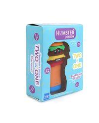 Hamster London Scented Sharpener & Eraser Burger