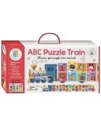 Building Blocks A B C Puzzle Train, multi