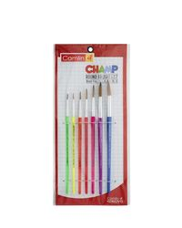 Champ Brushes Set Of 7 Round (Sr-64), mix